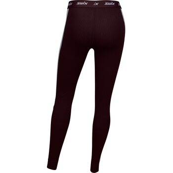 Swix RaceX Bodyw Pants Womens, Dark Aubergine, S