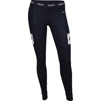 Swix RaceX Warm Bodyw Pants Womens, Dark Navy, S