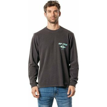 Rip Curl Fadeout Long Sleeve Tee, Washed Black, S