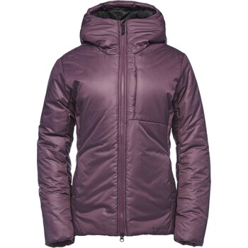 Black Diamond Belay Parka Womens, Plum, S