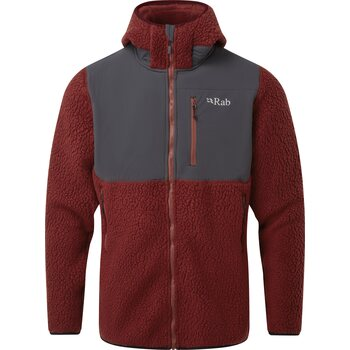 RAB Outpost Jacket Mens, Oxblood Red, M