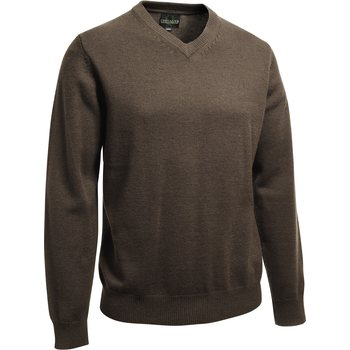 Chevalier Gary Wool Pullover w. patch, Ruskea, XL