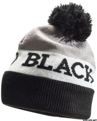 690ecdb02ad Black Diamond Tom Pom Beanie Black-White-Nickel