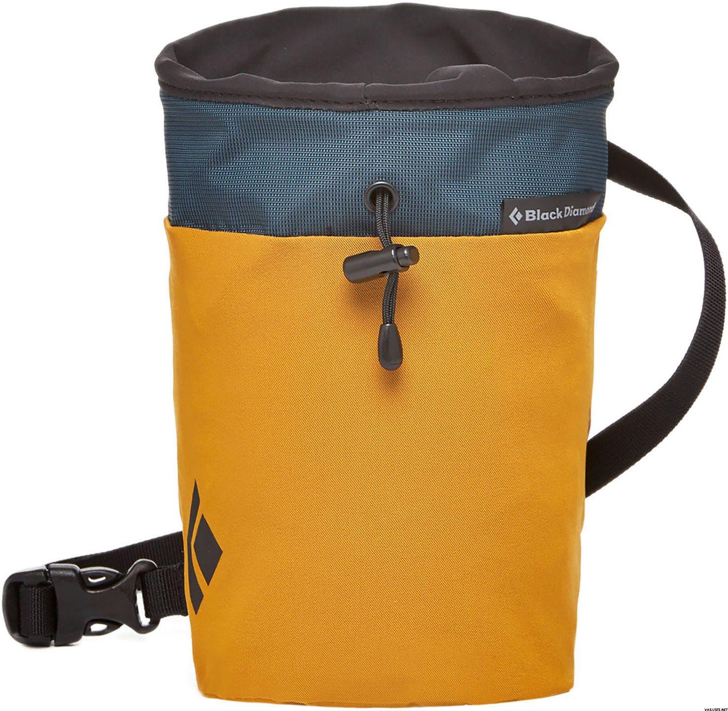 Black Diamond Gym Chalk Bag Medium Large Curry