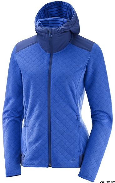 Jackets Mid Salomon Fz W English Women's Fleece Elevate ppaqEY