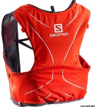 2c672d8b97e9 Salomon S-Lab Adv Skin 5 Set Running Bag Fiery Red Graphite