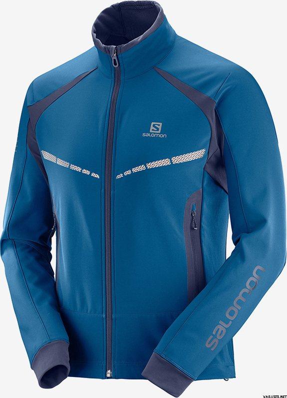 detailed look f81e6 82644 Salomon RS Warm Softshell JKT M