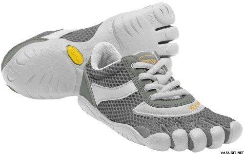 online store 0e3d5 99cd9 Vibram FiveFingers Speed for women Grey white