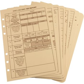 Rite in the Rain TACTICAL REFERENCE CARD SET