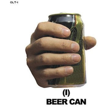 Law Enforcement Targets Beer Can Hand Overlay