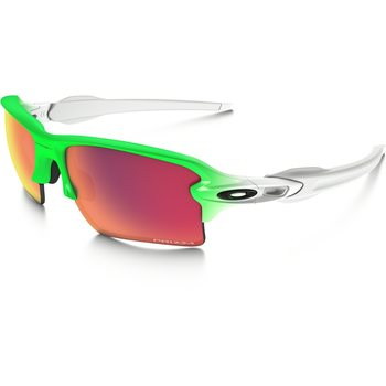 Oakley Flak 2.0 XL Green Fade Collection, Green Fade w/ Prizm Field