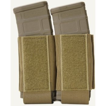 Ferro Concepts Turnover Magazine Pouch - Double 5.56