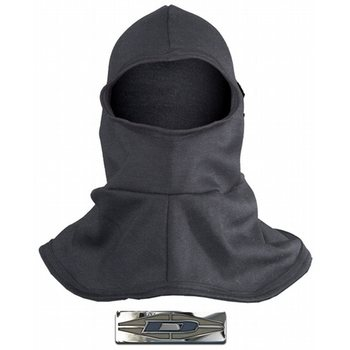 Damascus Nomex® Heavyweight Hood with flared bib, Black