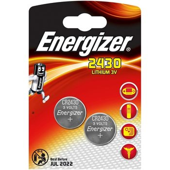 Energizer CR2430, 2-pack