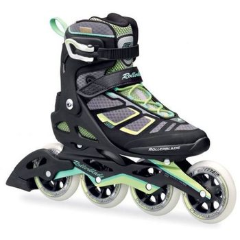 Rollerblade Macroblade 100 W, Black / Light Green, 25,5cm (EU 40)