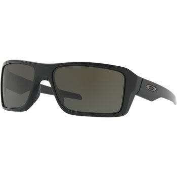 Oakley Double Edge, Matte Black w/ Dark Grey