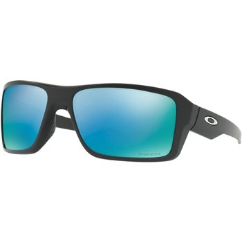 Oakley Double Edge, Matte Black w/ Prizm Deep Water H2O Polarized