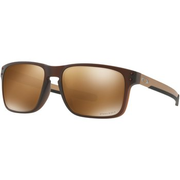 Oakley Holbrook Mix, Matte Rootbeer w/ Prizm Tungsten Polarized