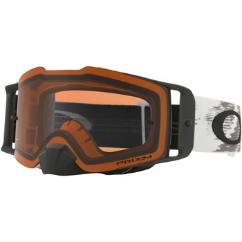 Oakley Front line Mx, Matte White Speed  w/Prizm Bronze Mx