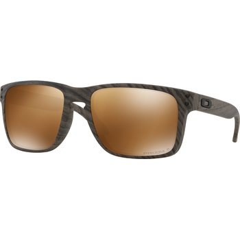 Oakley Holbrook XL Woodgrain w/ Prizm Tungsten Polarized