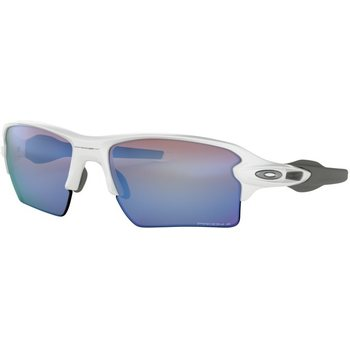 Oakley Flak 2.0 XL Polished White w/ Prizm Deep H2O Polarized