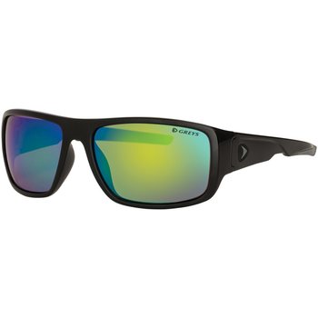 Greys G2 Sunglasses (Gloss Black / Green Mirror)