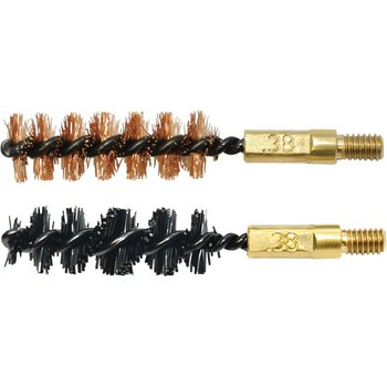 Otis .357-.38cal/9mm Bore Brush 2 Pack (1 nylon/1 bronze)