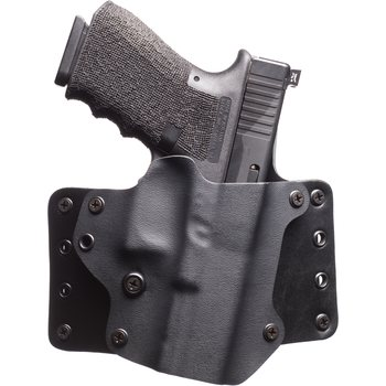 "BlackPoint Tactical Leather Wing Holster 1.75"" belt loops, Canted"