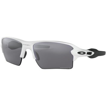 Oakley Flak 2.0 XL, Polished White w/ Prizm Black Polarized