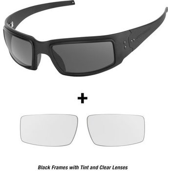 Ops-Core Mk1 Performance Protective Eyewear - Black w/ Tinted and Clear Lenses