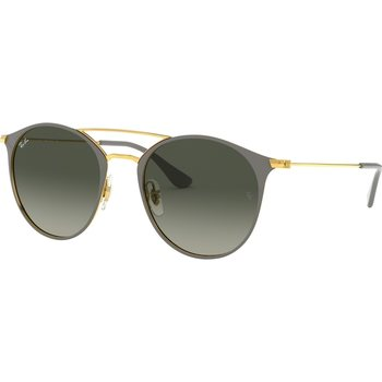 RayBan 3546 Gold Top On Grey, 52mm