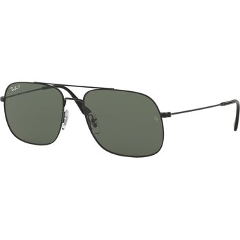 RayBan Andrea Rubber Black, 59mm