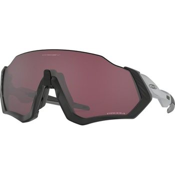 Oakley Flight Jacket Matte Black/ Silver w/ Prizm Road Black