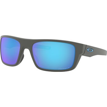 Oakley Drop Point, Matte Dark Gray w/ Prizm Sapphire Polarized