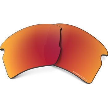 Oakley Flak 2.0 XL Replacement Lens Kit Prizm, Ruby Polarized