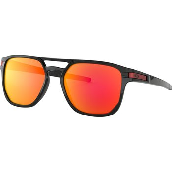 Oakley Latch Beta, Polished Black w/ Prizm Ruby