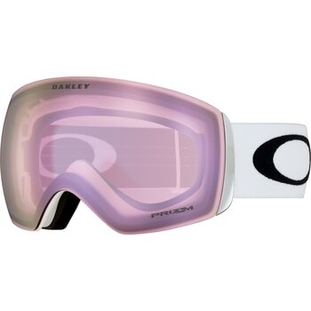 Oakley Flight Deck Matte White w/ Prizm Hi Pink