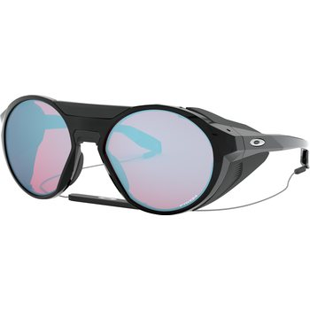 Oakley Clifden, Polished Black w/ Prizm Snow Sapphire Iridium