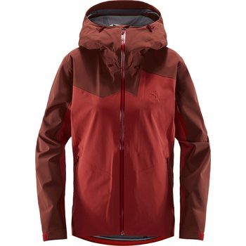 Haglöfs Stipe Jacket Women, Brick Red / Maroon Red, L