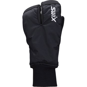 Swix Endure Split Mitt Junior, Black, 5 / M