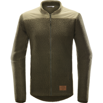 Haglöfs Pile Jacket Men, Deep Woods / Sage Green, S