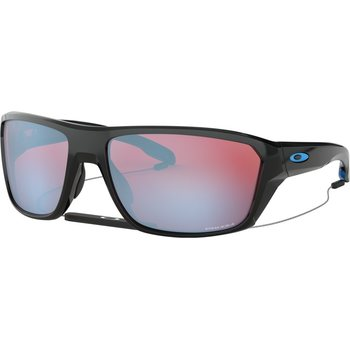 Oakley Split Shot, Polished Black w/ Prizm Snow Sapphire Iridium