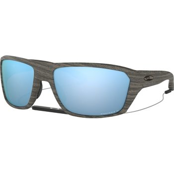 Oakley Split Shot, Woodgrain w/ Prizm Deep H2O Polarized