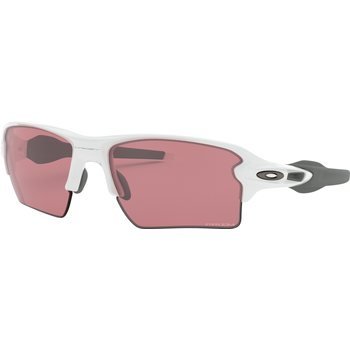 Oakley Flak 2.0 XL Polished White w/ Prizm Dark Golf