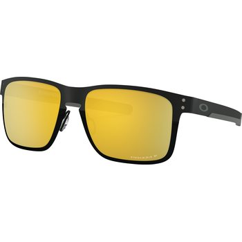 Oakley Holbrook Metal, Polished Black w/ Prizm 24k Polarized