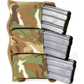 Blue Force Gear Horizontal Triple M4 Ten-Speed Pouch