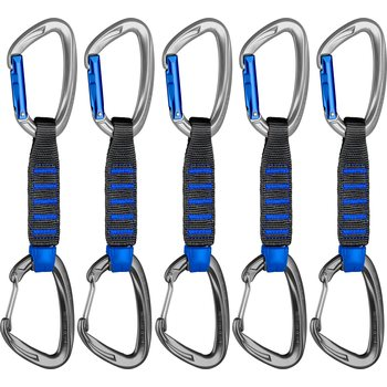 Mammut 5er Pack Crag Express Sets Straight Gate/Wire Gate 10cm