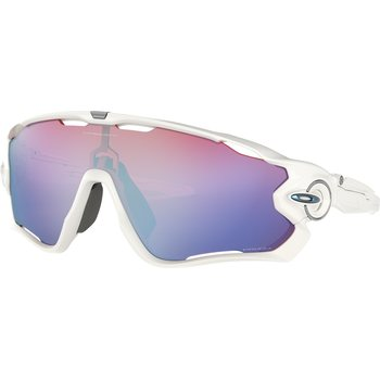 Oakley Jaw Breaker, Polished White w/ Prizm Snow