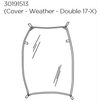Thule Weather Cover Double (530191513)