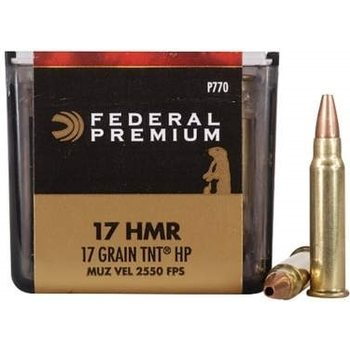 Federal .17 HMR 17gr TNT HP 50kpl